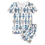Robot Print Shortie Two-Piece Gymmies®