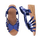 Metallic Butterfly Espadrille Sandals