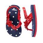 Sparkle Star Flip Flops
