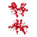 Maple Leaf Curly Clips Two-Pack