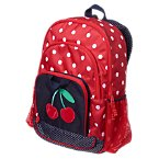 Cherry Polka Dot Backpack