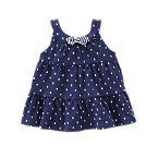 Polka Dot Tiered Tank