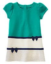 Colorblock Ribbon Dress