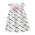 Bow Print Dress