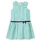 Striped Ribbon Dress