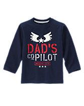 Dad's Copilot Tee