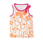 Bow Drawn Flower Tank