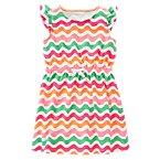 Wave Print Dress