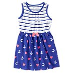 Hearts & Anchors Dress