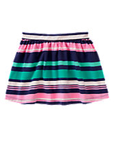 Multi-Striped Skirt