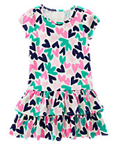 Hearts Ruffle Dress