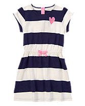 Heart Striped Dress