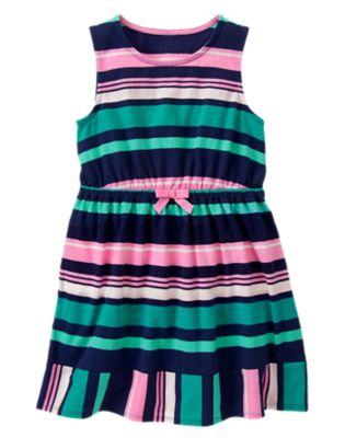 Multi-Striped Dress