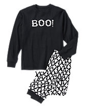 Adult Boo! Two-Piece Pajamas