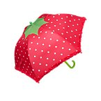 Strawberry Ruffle Umbrella