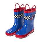 Race Car Rain Boots