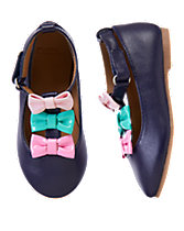 T-Strap Bow Flats