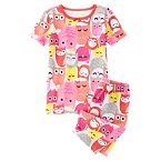 Happy Owl Shortie Two-Piece Gymmies®