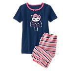Sleepy Owl Shortie Two-Piece Gymmies®