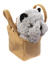 Plush Basket with Toto