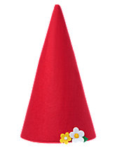 Flower Gnome Hat