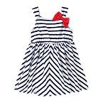 Bow Striped Dress