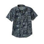 Palm Leaf Denim Shirt