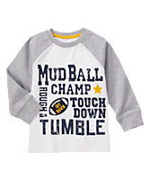 Mud Ball Raglan Tee