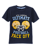 Ultimate Football Faceoff Tee