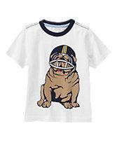 Football Bulldog Tee