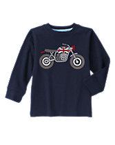 Motorcycle Long Sleeve Tee