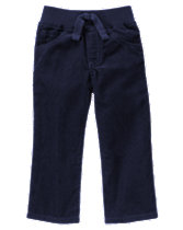 Pull-On Corduroy Pants