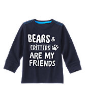 Bear Friend Long Sleeve Tee