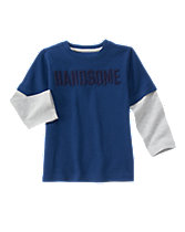 Handsome Long Sleeve Tee