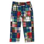 Classic Fit Patchwork Pants