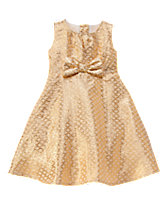 Jacquard Bow Dress