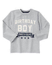 Birthday Boy Long Sleeve Tee