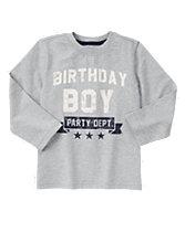 Birthday Boy Long Sleeve Tee