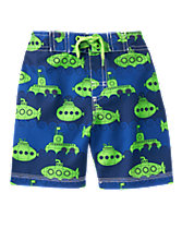 Submarine Print Swim Shorts