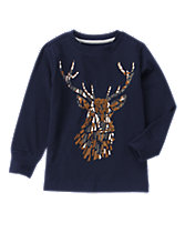 Deer Long Sleeve Tee