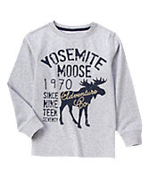 Yosemite Moose Long Sleeve Tee