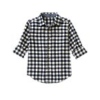 Gingham Flannel Shirt