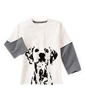 Dalmatian Long Sleeve Tee