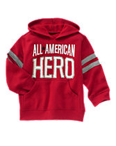 All American Hero Hooded Pullover