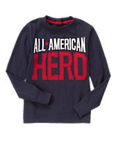 All American Hero Long Sleeve Tee