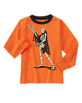 Long Sleeve Skeleton Tee