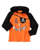 Pumpkin Pirate Hooded Tee