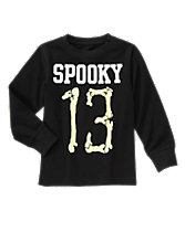 Long Sleeve Spooky 13 Tee