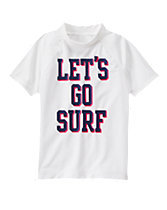 Let's Go Surf Rash Guard