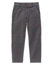 Houndstooth Plaid Pants